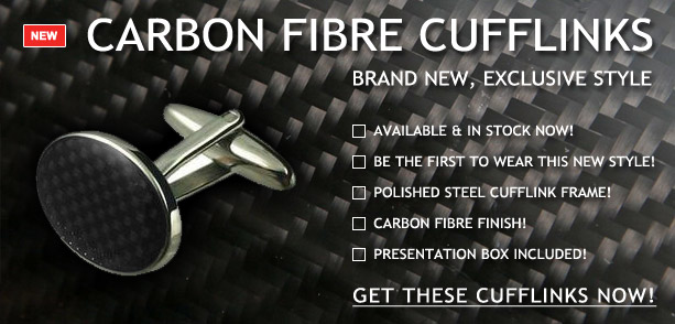 Carbon Fibre Cufflinks